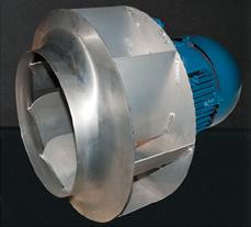Центробежный вентилятор для винтового компрессора